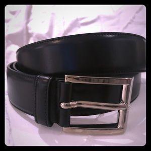 PRADA - Authentic Men's Belt - Black 40/100